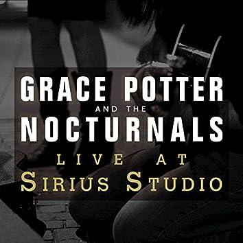 Live at Sirius Studios, NYC