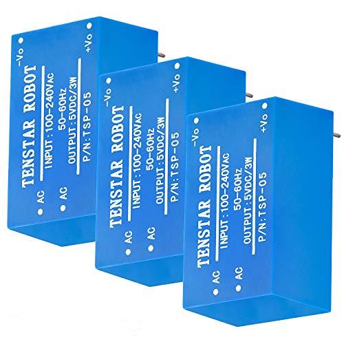 AZDelivery 3 x 220V zu 5V Mini-Netzteil kompatibel mit Arduino und Raspberry Pi inklusive E-Book!