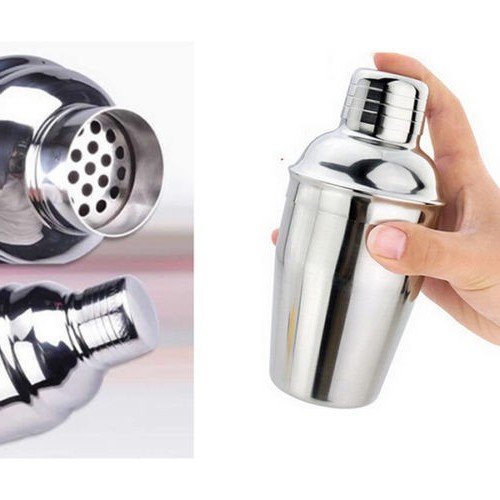 FAST WORLD SHOPPING Shaker per Cocktail Barman Bicchiere Drink Contenitore Mixer con Filtro