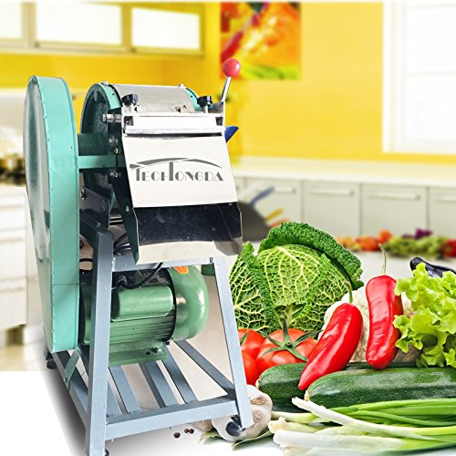 Intbuying 220V 1500W Vegetable Cutter Slicer Electric Machine Kitchen Chopper Best Food Dicer