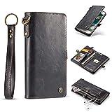 BQQ Funda Samsung S8, Funda para Tarjeta De Libro De Billetera Funda para Tarjeta De 10 Ranuras...