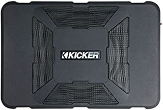 "KICKER 11HS8 8\"" 150W Hideaway Car Audio Powered Subwoofer Sub Enclosure HS8"