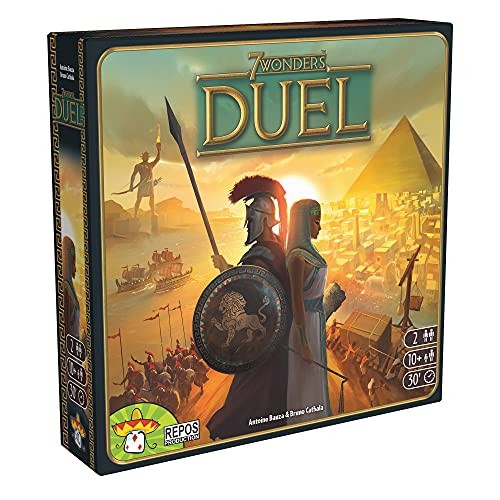 Asmodee 7 Wonders Duel Board Game
