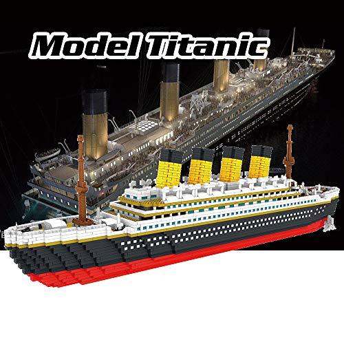 Walmeck- 9913 Modelo Titanic Atomic Building Blocks Kit 3800pcs Juguete de Regalo para niños