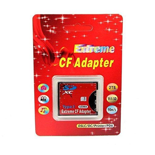 RGBS SD SDHC SDXC zu High Speed Extreme Compact Flash CF Type I UDMA Speicherkartenadapter für 16 / 32 / 64 / 128 GB