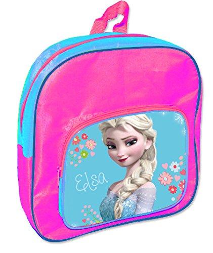 Viscio Trading 163676 Zaino Asilo con Tasca Frozen, PVC, Multicolore, 13x28x30 cm