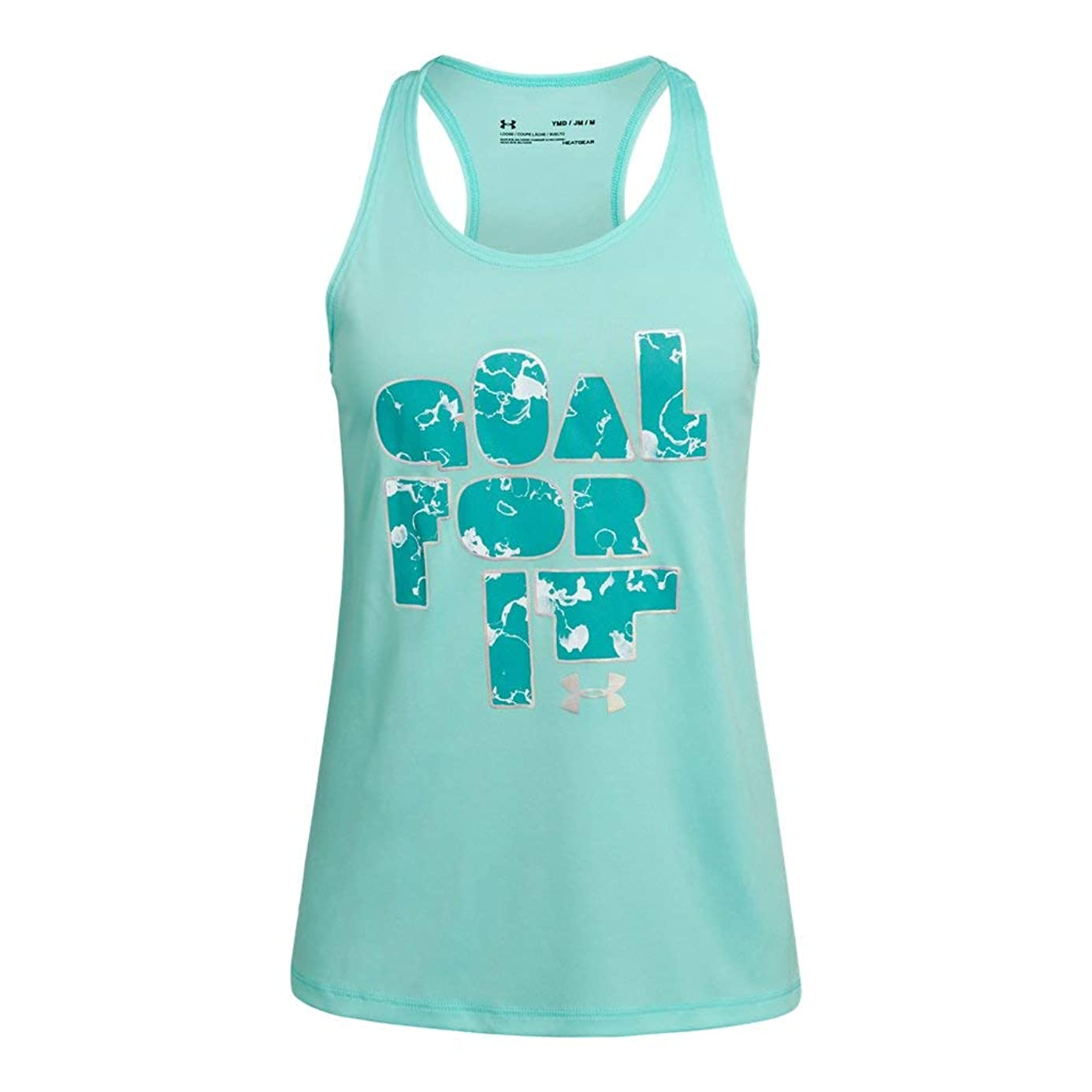Under Armour Goal for IT Tank, Neo Turquoise//Azure Teal, Youth