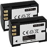 2X Baterías BLM-1 para Olympus Camedia E-1, E-300, E-330, E-500, E-510, C-5060, C-7070, C-8080