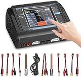 Cargador LiPo HTRC T240, Cargador de Batería RC para Lipo / Lilon / Life / LiHV / NiMH / NiCD / PB / Batería Inteligente, AC 150W DC 240W 10A Touch Control