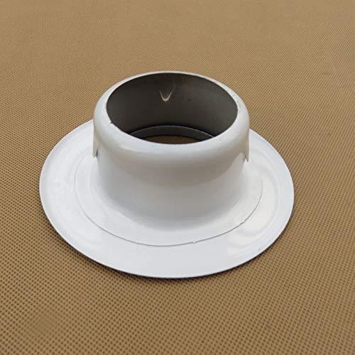 Wnuanjun, roestvrij staal 68mm decoratieve afdekking voor TV muur, oog blokkeren, airconditioning gaten, muur mond