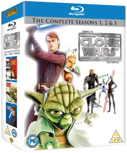 Star Wars-Clone Wars-Series 1 [Reino Unido] [Blu-ray]