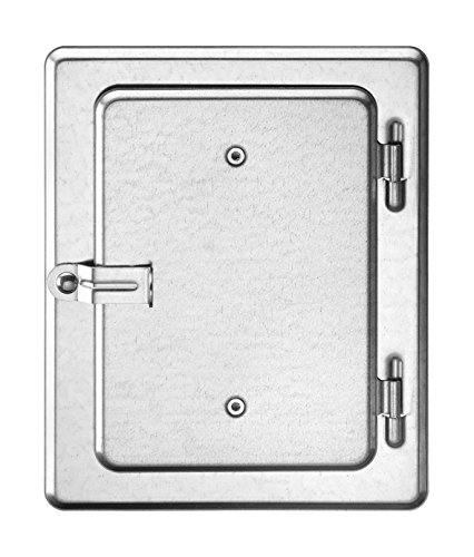 Upmann Kamintür 12x18 K10 10102 verz.hebel P-IV 010 / PA-IV 319