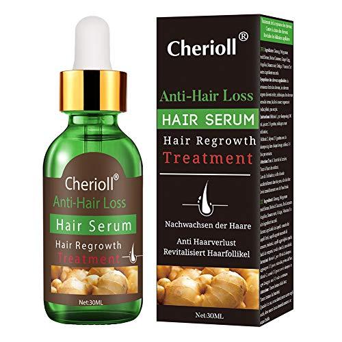 Haar Wachstum Serum, Haarausfall und Haar-Behandlung, Haar Serum, Neues Haarwachstum stimuliert, fördert dickeres, Volleres und schneller wachsenden Haar (30ml)