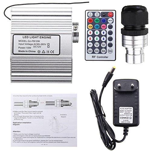 Tutoy 10W Rgbw Remote LED Fibra Ottica Stelle Plafoniere Kit Telecomando Strumenti Elettrici - Tipo 2