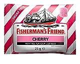 CHERRY SUGAR FREE FISHERMAN'S FRIEND Lozenges 24 x 25g Packs