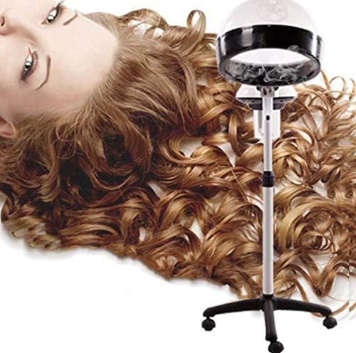 LQ&XL Cheveux Vapeur Sauna Cheveux Couleur Chauffe-eau Permanent Mobile Pour Beauté Spa Salon Accueil Coiffure Oxygène Vaporisateur Sèche-casque Professionnel Et à L'huile Chaude,