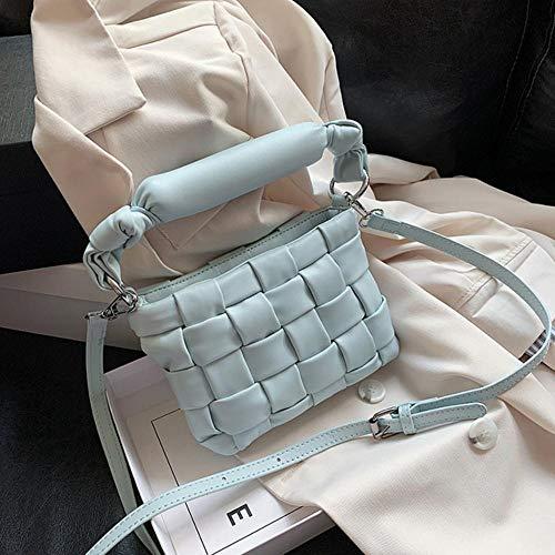 PANZZ Crossbody Bags Women Shoulder Handbags Female Travel Summer Totes, Blue, Mini