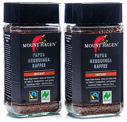 Mount Hagen Bio Mount Hagen Bio Fairtrade Instant Kaffee PNG (2 x 100 gr)