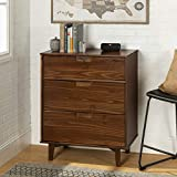 Walker Edison Furniture Company 3 Drawer Mid Century Modern...