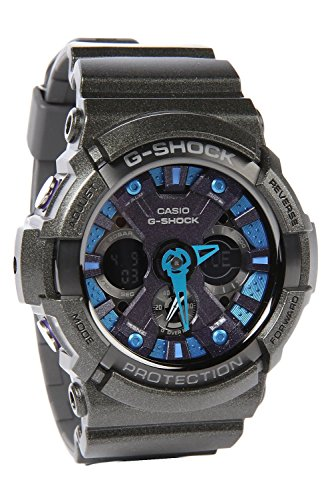 Casio G-Shock GA200SH-2A Glitter Black Men