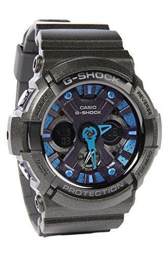 Casio GA-200SH-2ACR - Reloj para Hombres, Correa de Metal Color Negro
