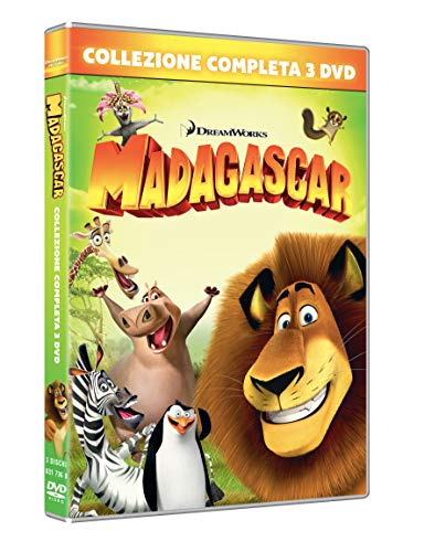 Madagascar 1,3 (Box 3 Dvd)