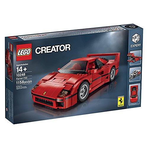 Lego 10248 Creator Kit F40 Expert Ferrari (1158 Pezzi)