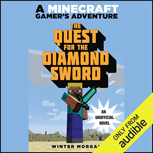 Quest for the Diamond Sword audiobook cover art