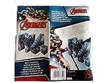 Schreibtisch-Zubehör-Set aus Hartkarton, Motiv Marvel Avengers