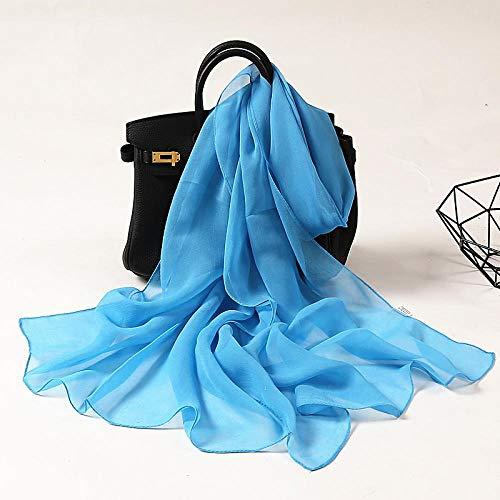 Tony plate Pañuelo Sólido De Seda Pelo De Satén para Mujer Pañuelos para La Cabeza con Estampado Diadema Femenina Bufandas De Cuello para Mujer Bufanda De Primavera-1