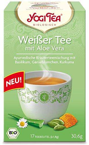 Yogi Tea | White Tea with Aloe Vera | 2 x 17 bags