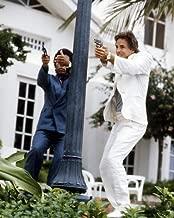 Miami Vice Don Johnson Philip Michael Thomas Firing Guns 8x10 Promotional Photo