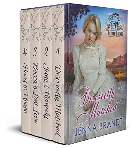 Border Brides Box Set: Sweet Historical Romance (English Edition)
