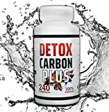 DETOX CARBON ACTIVE XXL, 240 compresse-Dimagrante Detox - bruciagrassi Per Perdere Peso Velocemente | Eccezionale Per Pancia Piatta Cosce Addominali E Purificare il Corpo Termogenico Naturale
