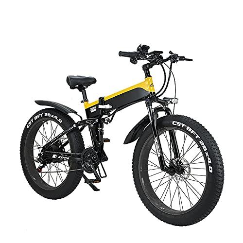WBYY Bicicleta Eléctrica Plegable para Adultos, Bicicleta Electrica Montaña de 26 Pulgadas,...