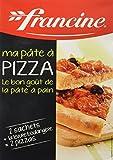 Francine Préparation pour pâte à pizza 510 g - Lot de 5