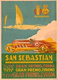 Gran Premio san Sebastian Kunstdruck Poster, Format 50 x 70
