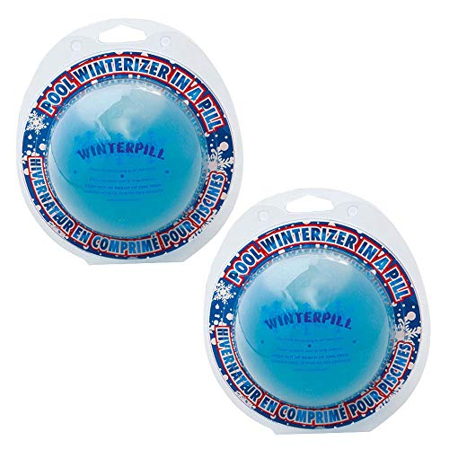 SeaKlear AP75-02 15K Winterpill Pool Closing Chemical, 2-Pack, White
