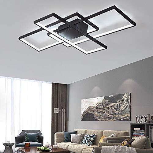 HE TUI Lámpara De Sala De Estar Lámpara De Techo LED Moderna...