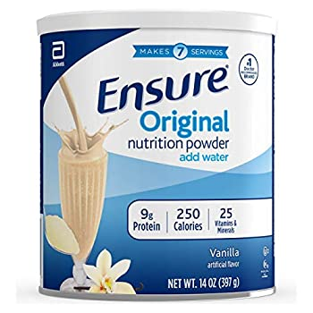 Ensure Original Nutrition Shake Powder with 9 grams of protein Meal Replacement Shakes Vanilla 14 oz 3 Count