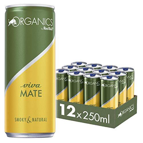 Organics by Red Bull Viva Mate Dosen Bio, 12er Palette, EINWEG (12 x 250 ml)