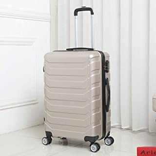 Trolley Suitcase Suitcase Men and Women Password Box Simple Hard Shell Suitcase Travel Suitcase Golden