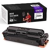 LEMEROUtrust 415A (Ningún Chip) Cartuchos de tóner Compatible para HP W2030A para HP Color Laserjet M454 M454dn M454dw Pro MFP M479 M479dw M479fnw M479fdn M479fdw Impresora(Negro)
