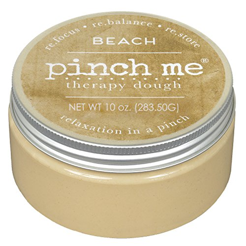 Pinch Me Therapy Dough - Holistic Aromatherapy Stress Relieving Putty - 10 Ounce… (Beach)