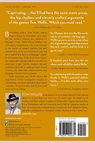 REVIEW Tom Wolfe's book The Kingdom of Speech