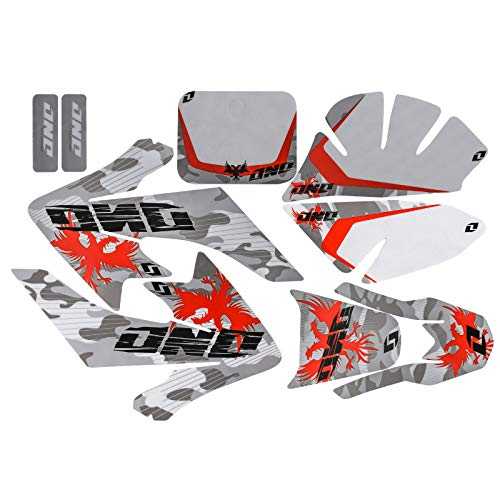 TDPRO Sticker Decal Graphics Fairing Kit for CRF50 Pit Pro Dirt Bike