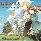 Howl's Moving Castle Calendar 2022: Cartoon calendar. SALE OFF 30% for this incredible cute calendar july 2021 to december 2022 with high quality ... to planning - To do list 18 months monthly