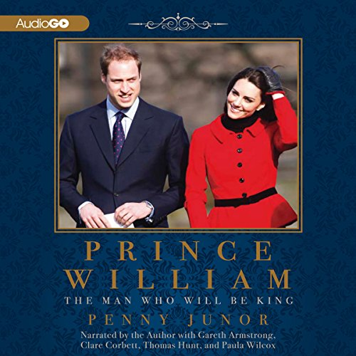 Prince William audiobook cover art