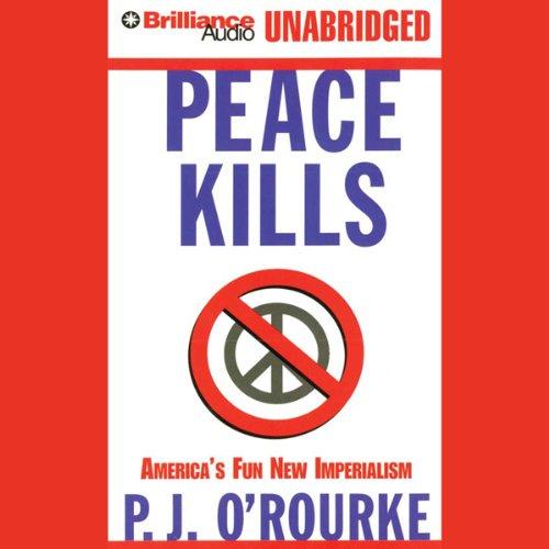 Peace Kills audiobook cover art