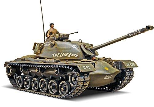 Revell 17853 M-48 A-2 Patton Tank detailgetreuer Modellbausatz, Militärbausatz 1:35